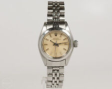 Rolex Ladies Stainless Steel Oyster Perpetual with Jubilee Band and Smooth Bezel