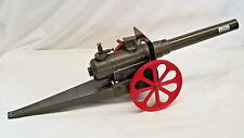 "Original LARGE Conestoga 25"" Big Bang 15FC Cast Iron Cannon Artillery Toy"
