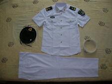 Obsolete 07's series China PLA Navy Man NCO Summer Short-sleeved Uniform,Set,A