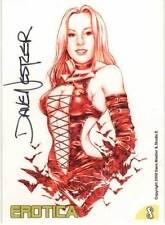 "Art of Dave Nestler ""Erotica"" subset card #8 - signed by Dave Nestler"