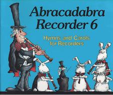 Abracadabra Recorder 6 Hymns & Christmas Carols For Groups Sheet Music Book