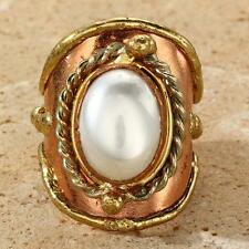 New Tara Mesa Pearl Knuckle Ring ~ Size 8 Adjustable