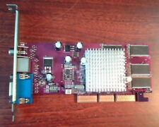 AGP card GeForce 4 MX440 8X 64MB DDR TV-out 73CT 104017829AV SV VGA