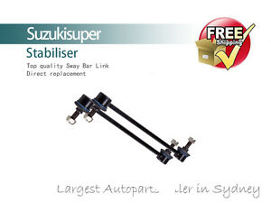 2 x Front Sway Bar Link Kit Bushes Mazda Tribute YU Stabiliser 2001-2003 Pair