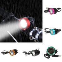 Waterproof 1200Lumen USB Power LED Bike Bicycle Front Light Headlamp Headlight