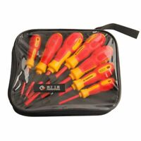PENGGONG 7Pcs Insulated Screwdriver Set 1000V Phillips/Slotted Electrician F4F6