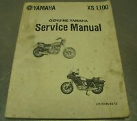Yamaha Factory Service Manual Guide OEM 1983 XZ550RK XZ 550 RK