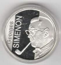 België 10 euro 2003 Proof zilver PP: Georges Simenon