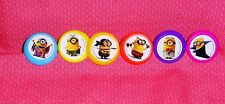 Minions Evolution,Cupcake Ring,Plastic,DecoPac,Bright Multi-Color, Party Favor