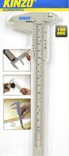Schieblehre Messschieber Schiebmesser Plastik metrisch analog 150mm 6in KINZO