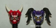 LEGO - Minifig, Headgear Ninjago - Oni Masks - Vengeance & Hatred