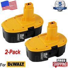 2 New 18V 18 Volt for Dewalt Xrp Battery Dc9096-2 Dc9098 Dc9099 Dw9096 Dc9096 Us