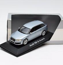 Minichamps 5010071021 Audi RS 6 Avant Monzasilber collection, 1:43, OVP, 96/07