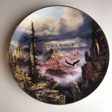 Where Eagles Soar Collector Plate God Bless America by Rudi Reichardt 1993