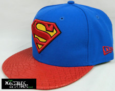 NEW ERA DC COMICS REPTVIZE 9FIFTY STRAPBACK CAP - SUPERMAN
