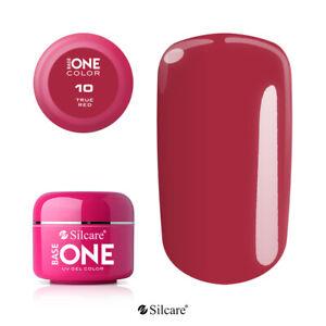 Gel UV Base One Color Nail Polish 120+ Colors FILE OFF  manufacturer SILCARE