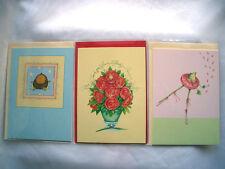 """Krinkles""PATIENCE BREWSTER""Doppelkarte*Birthday*Thank you*Frog*Rosebouquet*"