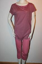 "Triumph Pyjama ""Summer Casual PK"" Gr. 38 rose gestreift Hose knielang Loungewear"