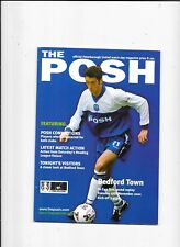 Peterborough v Bedford Town FA Cup 1st Round Replay 27/11/2001