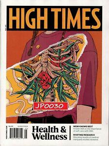 High Times Magazine May 2021, Health & Wellness, Brand New/Sealed