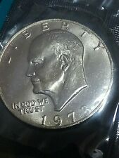 Key date-1973P Ike dollar Set Break In Cello, Mint State ++ Uncirculated *917