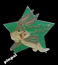 Bugs Bunny Pin ~ Looney Tunes ~ What's Up Doc ? ~ Green Star cut out