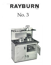 User manual for `The Rayburn No 3 solid fuel oven / cooker,16 pages.