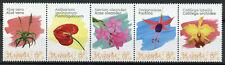 St Eustatius Caribbean Netherlands Flowers Stamps 2020 MNH Orchids Aloe 5v Strip