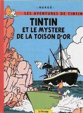 PASTICHE. Tintin et le Mystère de la Toison d'Or. Intégrale des 3 tomes 96 pages