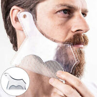 Symmetry Trimming Shaper Beard Styling Shaping Template Comb Barber Tool Charm