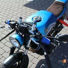 Motorrad Lenkergurt Lenker Spanngurt Transport Verzurr- Gurt blau Super Qualität