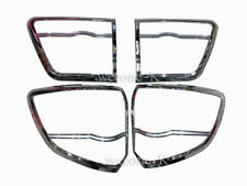 CHROME TAIL LIGHT TAILLIGHT COVER TRIM FOR TOYOTA FORTUNER 2012 2013 2014 2015