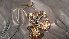 Musical Box Metal Rose and Butterfly