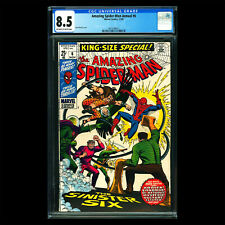 Amazing Spider-Man Annual #6 🔥 1st appearance of SINISTER SIX retold 🔥 CGC 8.5