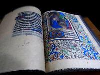 Catholic Church - Book Of Hours - 1420 AD Facsimile