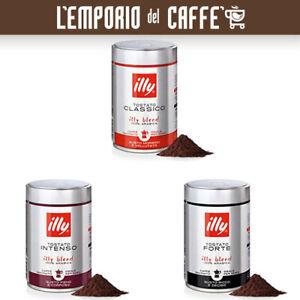 500 Gr Caffe Illy Macinato Moka Tostato Classico, Intenso e Forte 100% Arabica