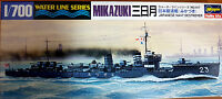 Mikazuki Japanese Navy Destroyer Cacciatorpediniere - Hasegawa Kit 1:700 - Nuovo