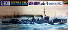 Hasegawa waterline 417 IJN Mikazuki Destroyer Battleship 1/700 Scale Kit