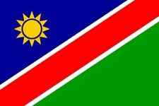 NAMIBIA NAMIBIAN FLAG RUGBY NATIONAL LARGE 5 x 3FT FANS SUPPORTERS FLAG EYELETS
