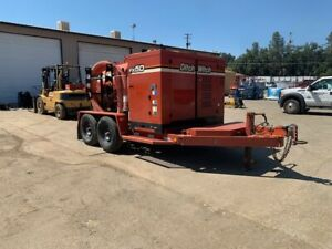 2013 DITCH WITCH FX50-300 T/A VACUUM TRAILER-49HP, 1000CFM, LOW HOURS (525 HRS)