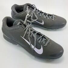 outlet store b0c45 299ff Nike Air Haurache Low Metal Baseball Cleats Spikes Mens Gray Sz 16 599233015