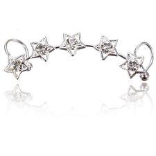 Vintage Retro Women Clip Ear Cuff Stud Punk Wrap Cartilage Earring Jewelry Gift