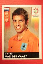 Panini EURO 2008 N. 268 VAN DER VAART NEDERLAND NEW With BLACK BACK TOPMINT !!