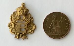 Early Primrose league  jewel / Medal