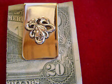 Girl on Nickle Money Clip: Sterling Deco