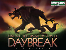 Daybreak One Night Ultimate Werewolf Family Party Game Bezier Games Expansion