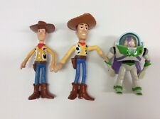 TOY STORY FIGURINES-SET OF THREE-2 ANDYS & BUZZ
