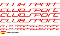 Vw golf gti clubsport kit de 8 Tuning sticker, auto Fun pegatinas, sticker-Bomb