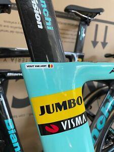 Bianchi Aquila CV Time Trial Bike Team Jumbo Visma Pro Team Shimano Dura Ace Di2