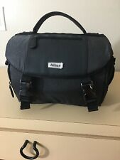 Nikon DSLR Camera & Accessory Case Bag Black Nylon 17001 Padded Shoulder Strap